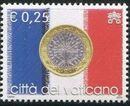 Vatican City 2004 Flags and One-Euro Coins d