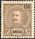Zambezia 1903 D. Carlos I g