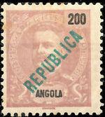 Angola 1914 D. Carlos I Overprinted g