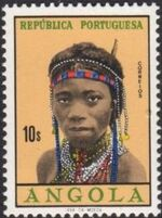 Angola 1961 Native Women from Angola m