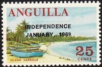 Anguilla 1969 Independence i