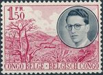 Belgian Congo 1955 King Baudouin First Trip to Congo a