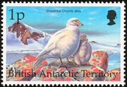 British Antarctic Territory 1998 Birds a