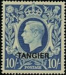 "British Offices in Tangier 1949 King George VI Overprinted ""TANGIER"" o"