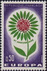 France 1964 Europa b