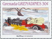 Grenada Grenadines 1988 The Disney Animal Stories in Postage Stamps 3g