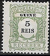 Guinea, Portuguese 1904 Postage Due Stamps a
