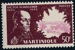 Martinique 1945 Victor Schoelcher d