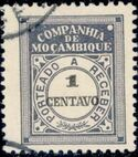Mozambique Company 1916 Postage Due Stamps b