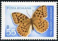 Romania 1969 Butterflies e
