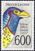 Sierra Leone 1992 Bird's Heads h