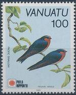 Vanuatu 1991 Phila Nippon'91 - Birds d