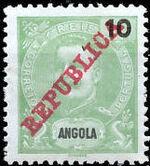 Angola 1911 D. Carlos I Overprinted c