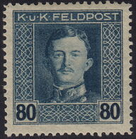 Austria 1917-1918 Emperor Karl I (Military Stamps) o
