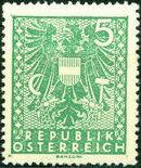 Austria 1945 Coat of Arms c