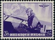 Belgium 1938 European Airmail Conference f