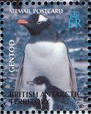 British Antarctic Territory 2003 Penguins of the Antarctic j