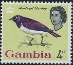 Gambia 1963 Birds f