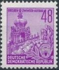 Germany DDR 1953 Workers For The Five-year Plan o