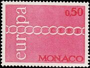 Monaco 1971 Europa a