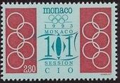 Monaco 1993 101st Session International Olympic Committee h