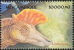 Mozambique 2002 Dinosaurs x