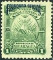 Nicaragua 1895 Official Stamps Overprinted in Blue a.jpg
