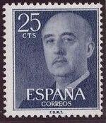 Spain 1955 General Franco d