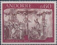 Andorra-French 1968 Frescoes c