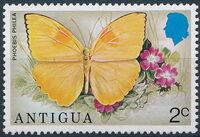 Antigua 1975 Butterflies c