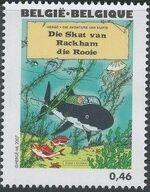 Belgium 2007 Tintin book covers translated l