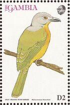 Gambia 1993 Birds of Africa g