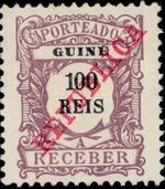 Guinea, Portuguese 1911 Postage Due Stamps g