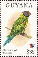 Guyana 1994 Birds of the World (PHILAKOREA '94) d