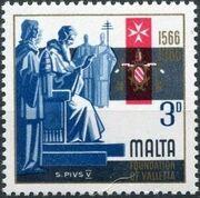 Malta 1966 4th Centenary Of The Foundation Of Valletta b