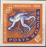 Romania 1963 9th Winter Olympic Games in Innsbruck p