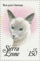Sierra Leone 1993 Cats of the World q