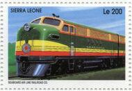 Sierra Leone 1995 Railways of the World c