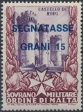 Sovereign Military Order of Malta 1975 Postage Due Stamps e