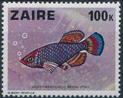 Zaire 1978 Fishes i