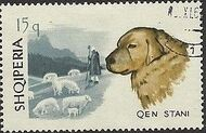 Albania 1966 Dogs b