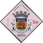 Angola 1963 Coat of Arms - (1st Serie) l