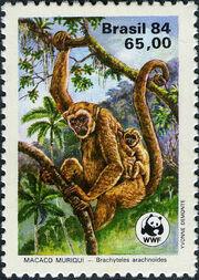 Brazil 1984 WWF - Southern Muriqui a
