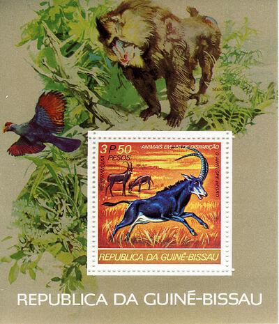 Guinea-Bissau 1978 Endangered Species i