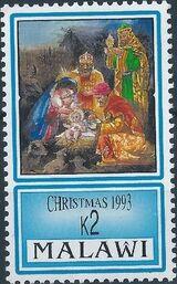 Malawi 1993 Christmas d