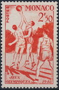Monaco 1948 Summer Olympics, London - Regular Stamps d