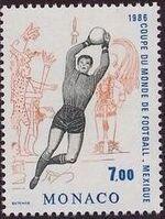 Monaco 1986 World Cup Football Championships b
