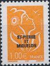 St Pierre et Miquelon 2005 Definitive Issue - Marianne des Français i