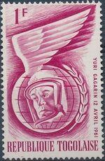 Togo 1962 Astronauts of 1961 b