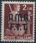 Trieste-Zone A 1947 Democracy (Italy Postage Stamps of 1945 Overprinted) d
